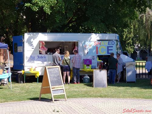 Selah Sweets Food Truck at 2019 ChillAxle Car Show