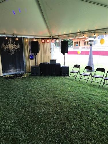 High School Senior Prom 2021 Setup