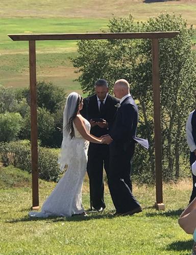 Mr. and Mrs. Foust Teanaway Grange