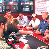 Limit 2-8 Cash Games & Daily No limit Poker Tournaments