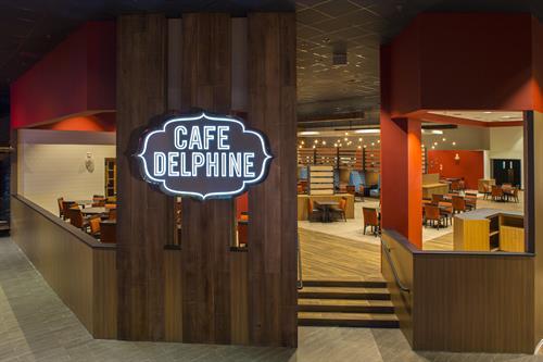 Cypress Bayou Casino Hotel - Cafe Delphine Exterior