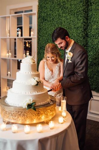 Wedding Reception - Cake Cutting