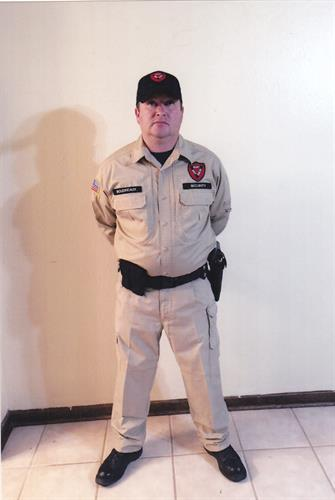 Security Officer in Uniform