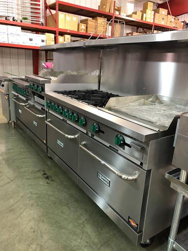 Heavy Duty Cooking Equipment