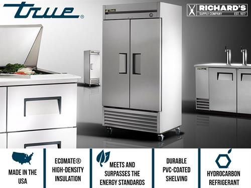 Authorized distributors and services of True brand refrigeration