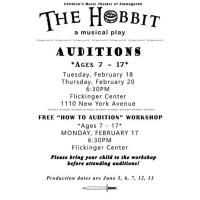 The Hobbit: Auditions