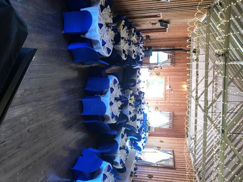 The Pavilion is a beautiful, rustic backdrop for any wedding or Event