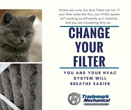 Reminder - Change your filters