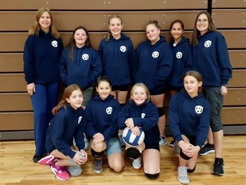 TM Girls Volleyball Team      Post Falls Park & Rec