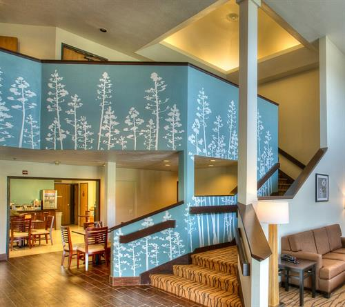 A new modern and ever so relaxing grand entrance