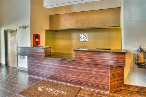 Are amazing and inviting Front Desk where we serve nothing but 5 Stars Service with each and every guest
