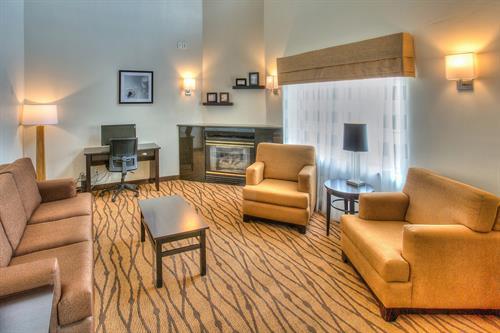 A new Stylish and Sleeker Lounge / Business Area