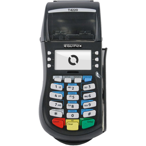 Equinox T4220 EMV - Encrypted Transactions and EMV Compliant (for 2015)