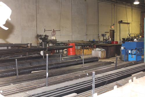 In-house fabrication allows us to control production and meet schedule dictated by contractor.