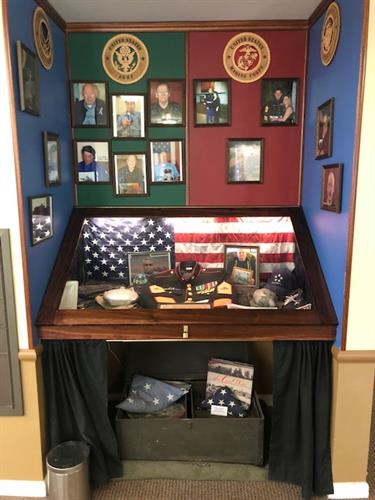 Honoring our Veteran residents and employees