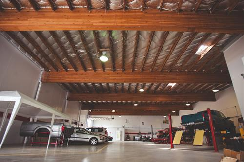 Factory Certified Repair facility, Dallas