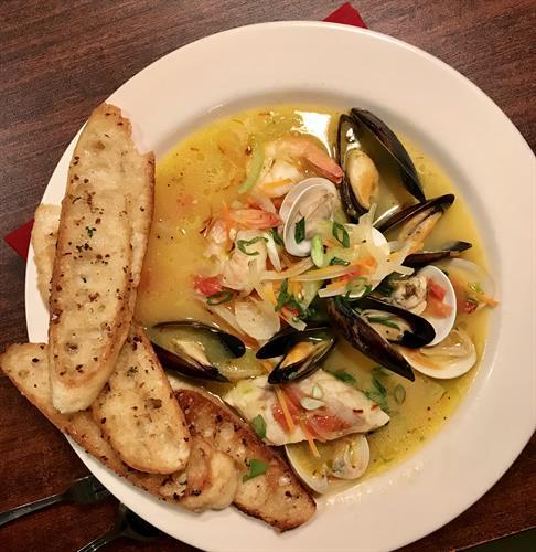 Saffron Fisherman's Stew!