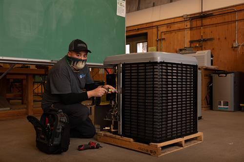 HVAC Student at Chemeketa
