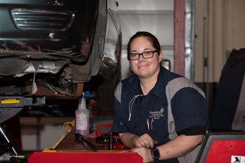 Automotive Tech Student at Chemeketa