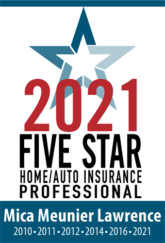 2021 Five Star Professional Home/Auto insurance for 6 years