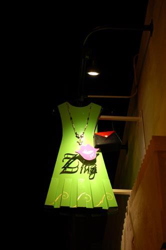 Zing Sign at Night