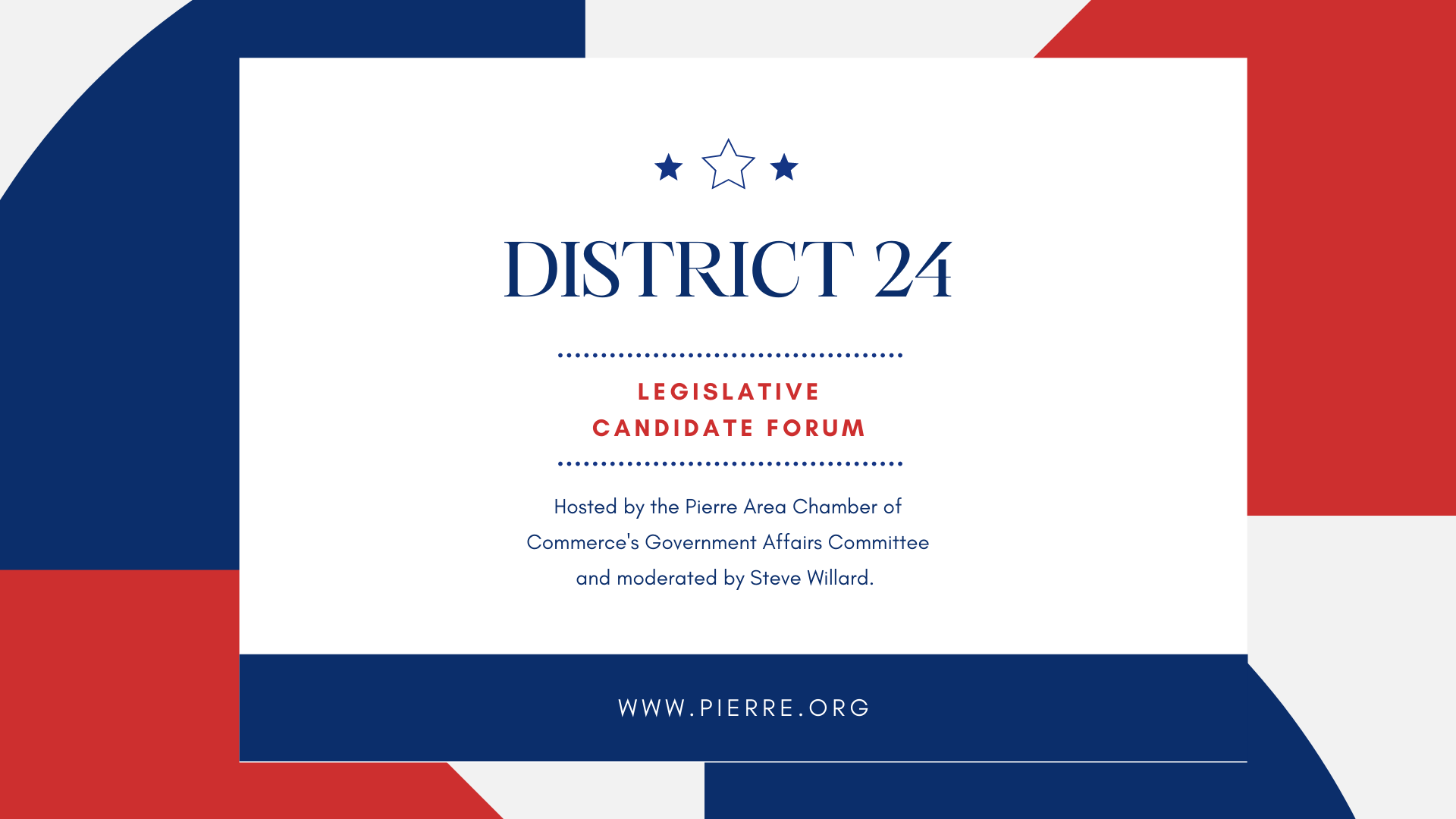 Image for Legislative Candidate Forum for District 24 House of Representatives