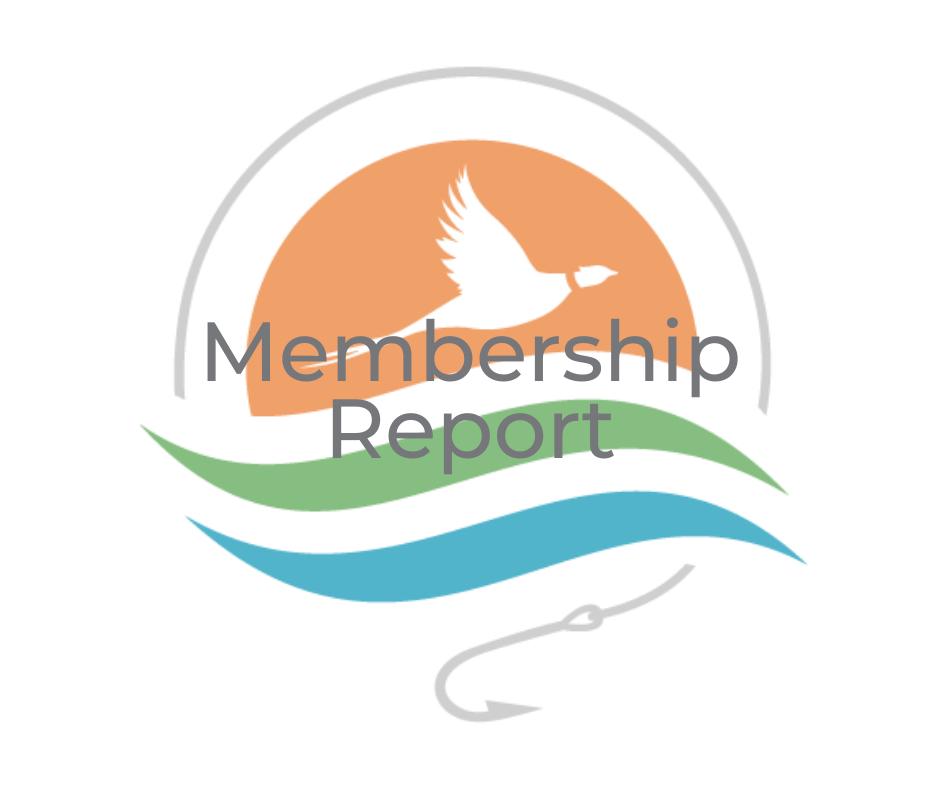 Image for July 2021 Membership Report