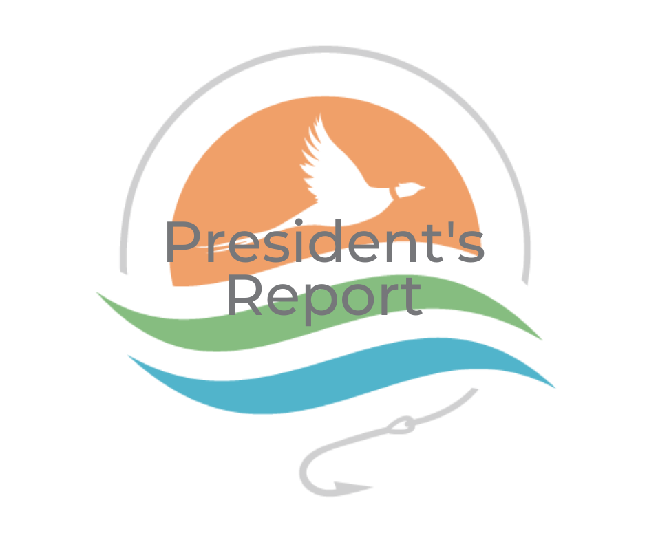 July 2021 President's Report