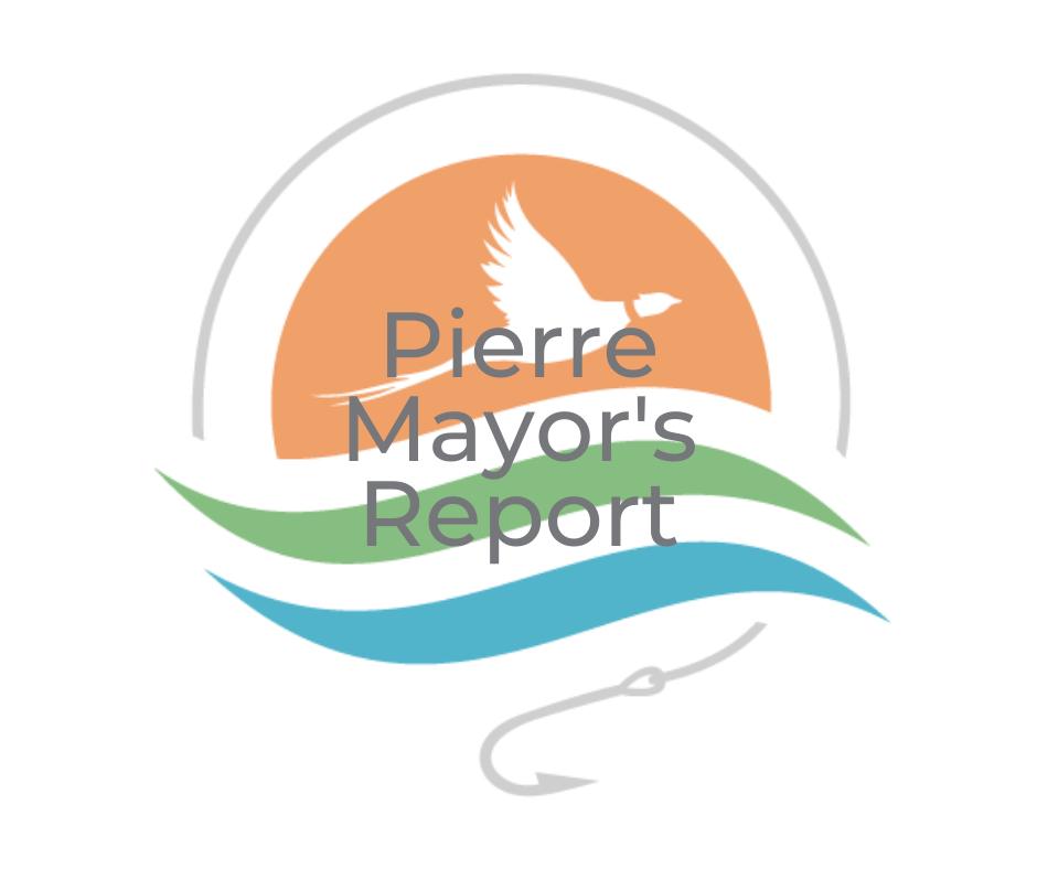 September 2021 Pierre Mayor's Report