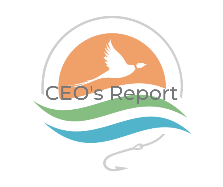 Image for October 2021 CEO's Report