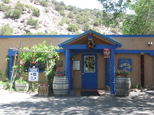 Tasting Room in Velarde