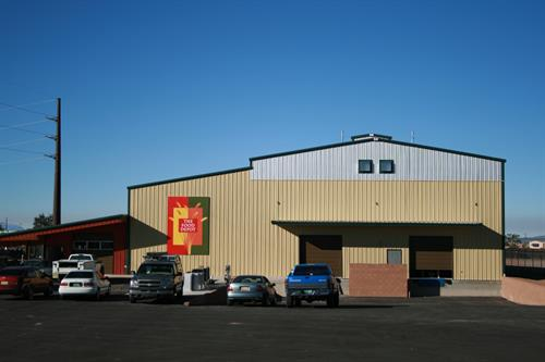 The Food Depot's New Facility