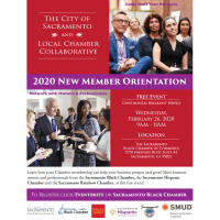 The City of Sacramento and Local Chamber Collaborative - 2020 New Member Orientation