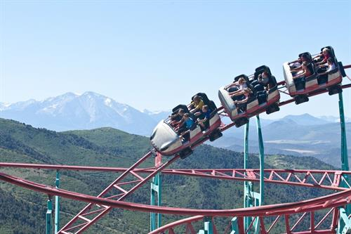 Highest elevation roller coaster in the US!
