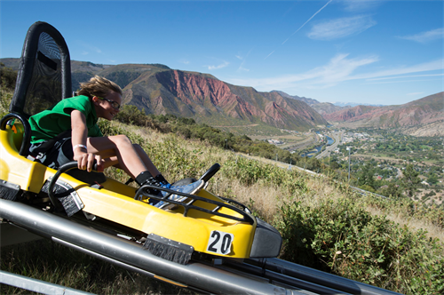 Colorado's first Alpine Coaster