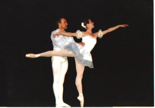 Alexandra and Anthony Jerkunica, Sylvia Pas De Deux