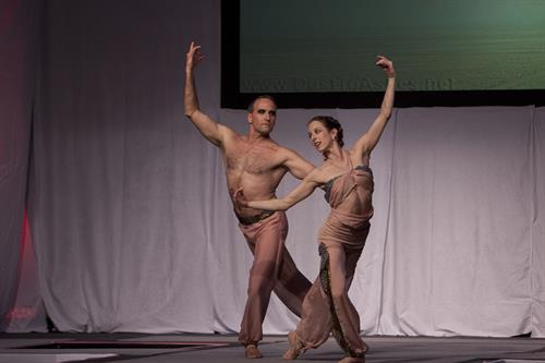 Alexandra and Anthony Jerkunica, Ad Guray yoga ballet