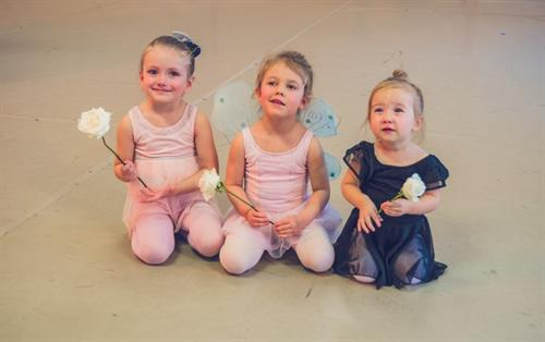Toddler dancers from our 2018 Spring performance.