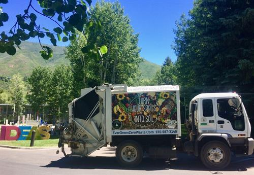 Composting Compactor at Aspen Ideas Festival