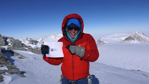 Summit of Vinson