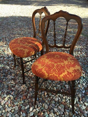 Antique ballroom chairs
