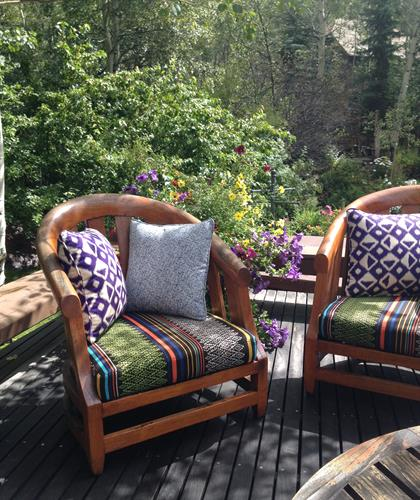 Outdoor furniture cushions & pillows