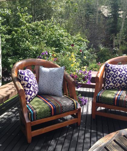 Outdoor furniture cushions & pillows