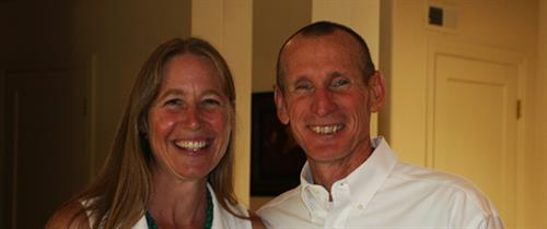 Laura Bartels (Executive Director) and John Bruna (co-founder)