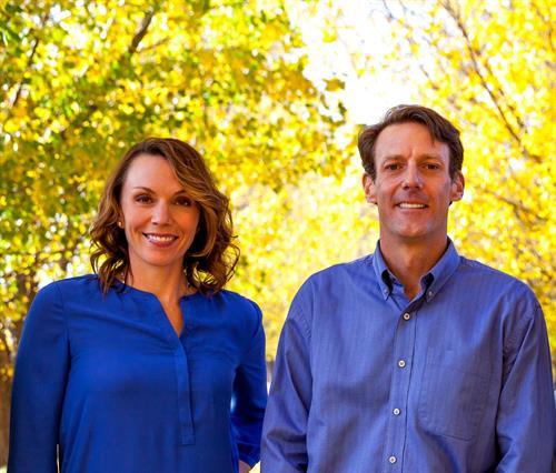 Drs. Rebecca Steinbach and Schuyler Van Gorden