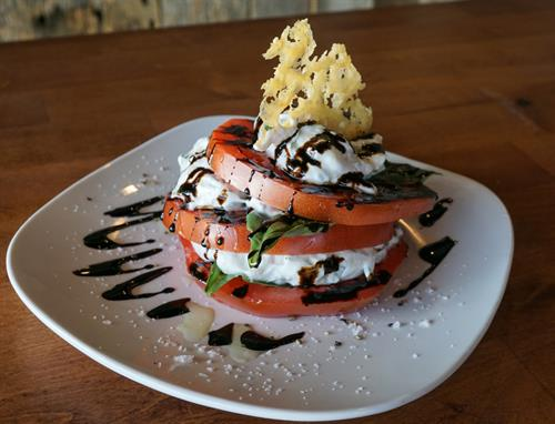 Our ever popular Stacked Caprese