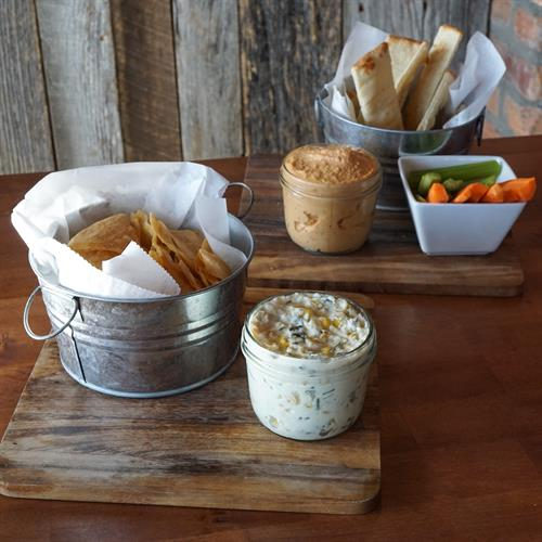 House-made Chips and Dips