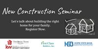 New Construction Buyer Seminar