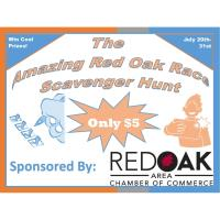 The Amazing Red Oak Race Scavenger Hunt