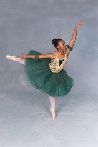 Tori W. (1st year student, acceptance into Joffrey Ballet Summer Intensives and Broadway (NYC)